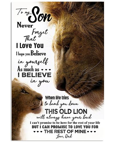 TO MY SON - LION - NEVER FORGET