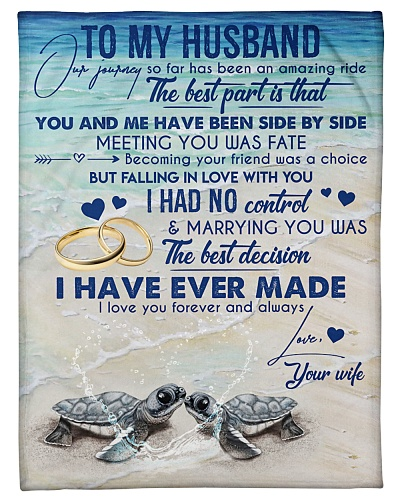TO MY HUSBAND - TURTLE - MEETING YOU WAS FATE
