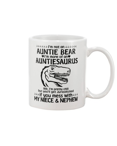 I'm not an auntie bear