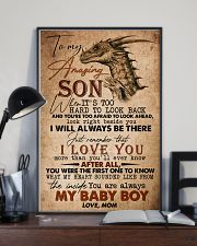 TO MY SON - AMAZING - WHEN IT'S TOO HARD 16x24 Poster lifestyle-poster-2
