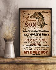 TO MY SON - AMAZING - WHEN IT'S TOO HARD 16x24 Poster lifestyle-poster-3