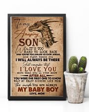 TO MY SON - AMAZING - WHEN IT'S TOO HARD 16x24 Poster lifestyle-poster-8
