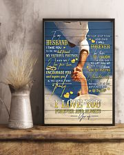 Hands - I Take You To Be My Best Friend - Poster 16x24 Poster lifestyle-poster-3