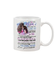 TO MY MOM - MY LOVING MOTHER Mug front