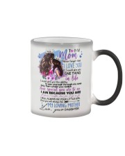 TO MY MOM - MY LOVING MOTHER Color Changing Mug thumbnail