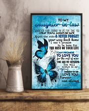 TO MY DAUGHTER-IN-LAW - BUTTERFLY - I LOVE YOU 16x24 Poster lifestyle-poster-3