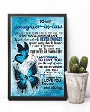 TO MY DAUGHTER-IN-LAW - BUTTERFLY - I LOVE YOU 16x24 Poster lifestyle-poster-8