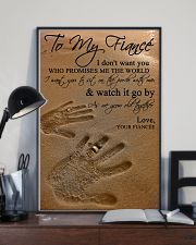 TO MY FIANCE' 16x24 Poster lifestyle-poster-2