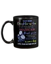 TO MY DAUGHTER-IN-LAW - BLUE BOTANIC - CIRCUS Mug back