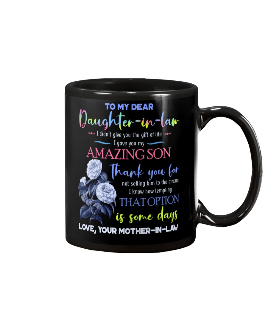 TO MY DAUGHTER-IN-LAW - BLUE BOTANIC - CIRCUS Mug