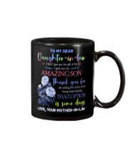 TO MY DAUGHTER-IN-LAW - BLUE BOTANIC - CIRCUS Mug front
