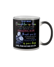 TO MY DAUGHTER-IN-LAW - BLUE BOTANIC - CIRCUS Color Changing Mug thumbnail