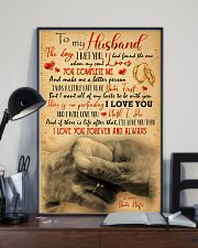 To Husband - Hand In Hand - Poster 16x24 Poster lifestyle-poster-2