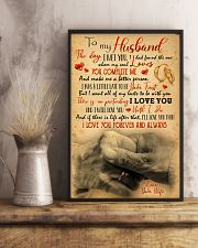 To Husband - Hand In Hand - Poster 16x24 Poster lifestyle-poster-3