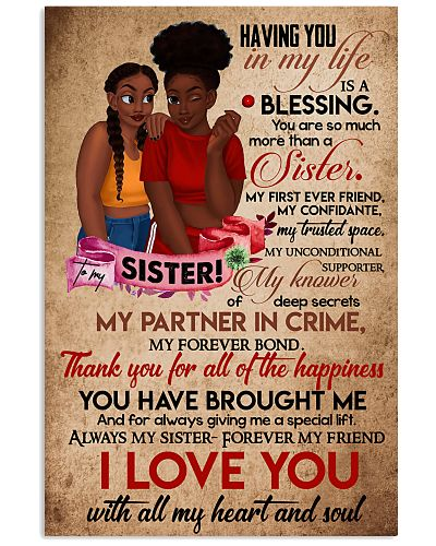 TO MY SISTER - BLACK GIRLS - I LOVE YOU