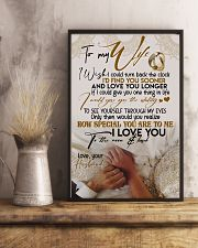 POSTER - TO MY WIFE - HAND IN HAND - I LOVE YOU 16x24 Poster lifestyle-poster-3