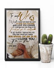 POSTER - TO MY WIFE - HAND IN HAND - I LOVE YOU 16x24 Poster lifestyle-poster-8