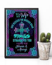 Husband To Wife - God Blessed The Broken Road  16x24 Poster lifestyle-poster-8