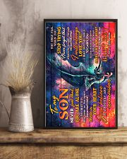 Dragon - Mom To Son - Never Feel That You Are  16x24 Poster lifestyle-poster-3