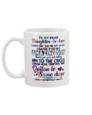 To My Daughter-in-law - Motif - Circus - Mug Mug back