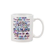 To My Daughter-in-law - Motif - Circus - Mug Mug front