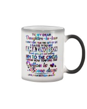 To My Daughter-in-law - Motif - Circus - Mug Color Changing Mug thumbnail