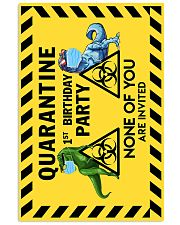 POSTER - T REX - QUARANTINE BIRTHDAY 16x24 Poster front