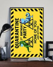 POSTER - T REX - QUARANTINE BIRTHDAY 16x24 Poster lifestyle-poster-2