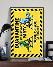 POSTER - T REX - QUARANTINE BIRTHDAY 16x24 Poster lifestyle-poster-2