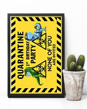 POSTER - T REX - QUARANTINE BIRTHDAY 16x24 Poster lifestyle-poster-8