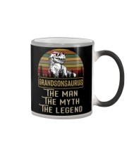 GRANDMA TO GRANDSON - THE MAN - THE LEGEND Color Changing Mug thumbnail