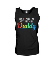 T-SHIRT - DAUGHTER - FATHER'S DAY Unisex Tank thumbnail