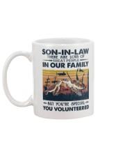 SON-IN-LAW - TURTLE - VINTAGE - YOU VOLUNTEERED Mug back