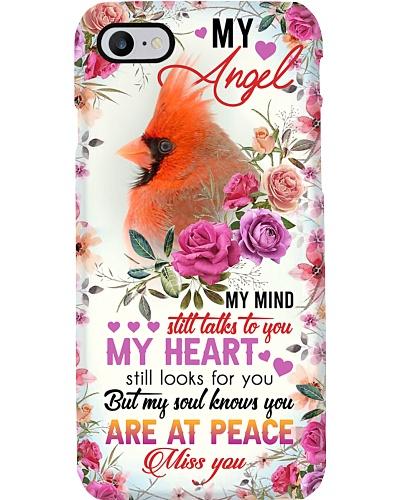 MY ANGEL HUSBAND - CARDINAL - I LOVE YOU