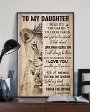 TO DAUGHTER - LIONESS - THE INSIDE 16x24 Poster lifestyle-poster-2