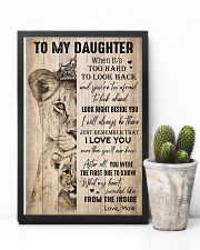 TO DAUGHTER - LIONESS - THE INSIDE 16x24 Poster lifestyle-poster-8
