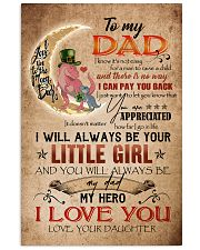 TO MY DAD - DINOSAUR - YOU ARE APPRECIATED 16x24 Poster front