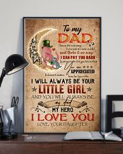 TO MY DAD - DINOSAUR - YOU ARE APPRECIATED 16x24 Poster lifestyle-poster-2