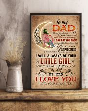 TO MY DAD - DINOSAUR - YOU ARE APPRECIATED 16x24 Poster lifestyle-poster-3