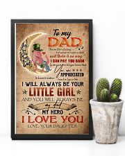 TO MY DAD - DINOSAUR - YOU ARE APPRECIATED 16x24 Poster lifestyle-poster-8