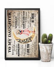 Mum To Daughter - Moon - Poster 16x24 Poster lifestyle-poster-8