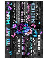 To My Mom - You Are Aprreciated - Poster 16x24 Poster front