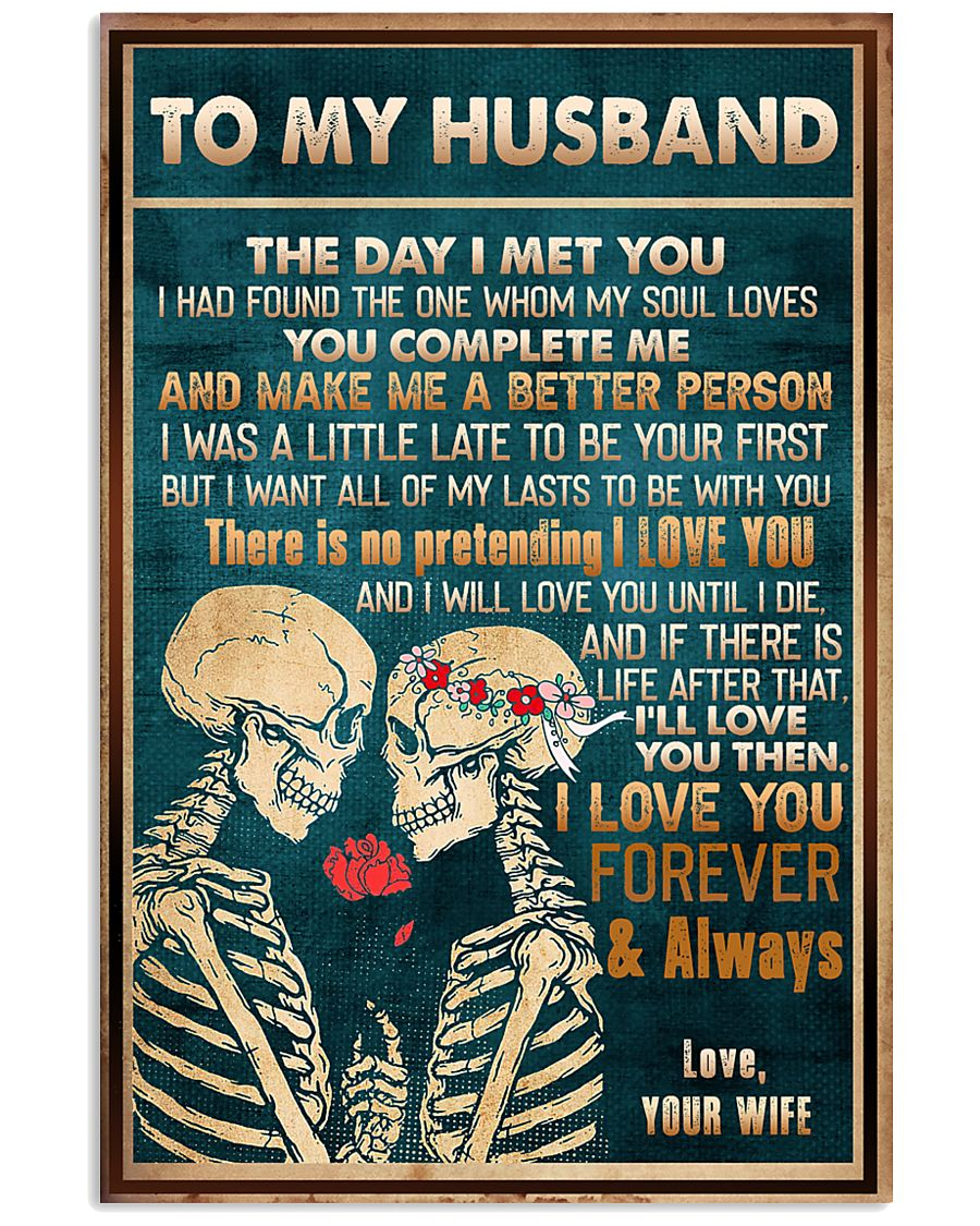 To Husband - The Day I Met You - Poster 16x24 Poster