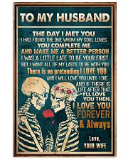 To Husband - The Day I Met You - Poster 16x24 Poster front