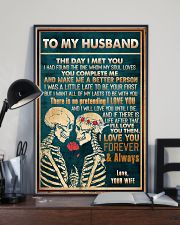 To Husband - The Day I Met You - Poster 16x24 Poster lifestyle-poster-2