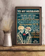 To Husband - The Day I Met You - Poster 16x24 Poster lifestyle-poster-3