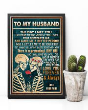 To Husband - The Day I Met You - Poster 16x24 Poster lifestyle-poster-8