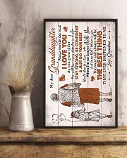Grandma to Granddaughter - Poster 16x24 Poster lifestyle-poster-3