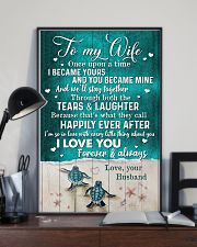TO MY WIFE - TURTLE - I LOVE YOU 16x24 Poster lifestyle-poster-2