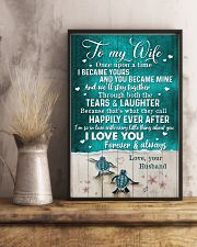 TO MY WIFE - TURTLE - I LOVE YOU 16x24 Poster lifestyle-poster-3